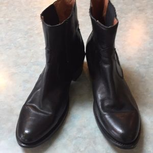Frye Shoes - Frye black leather boots
